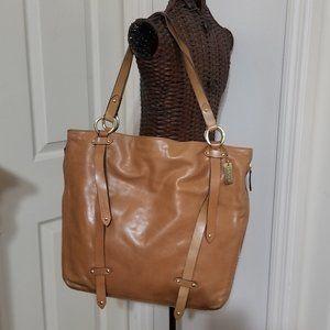 DKNY Large Buckskin Shoulder Bag